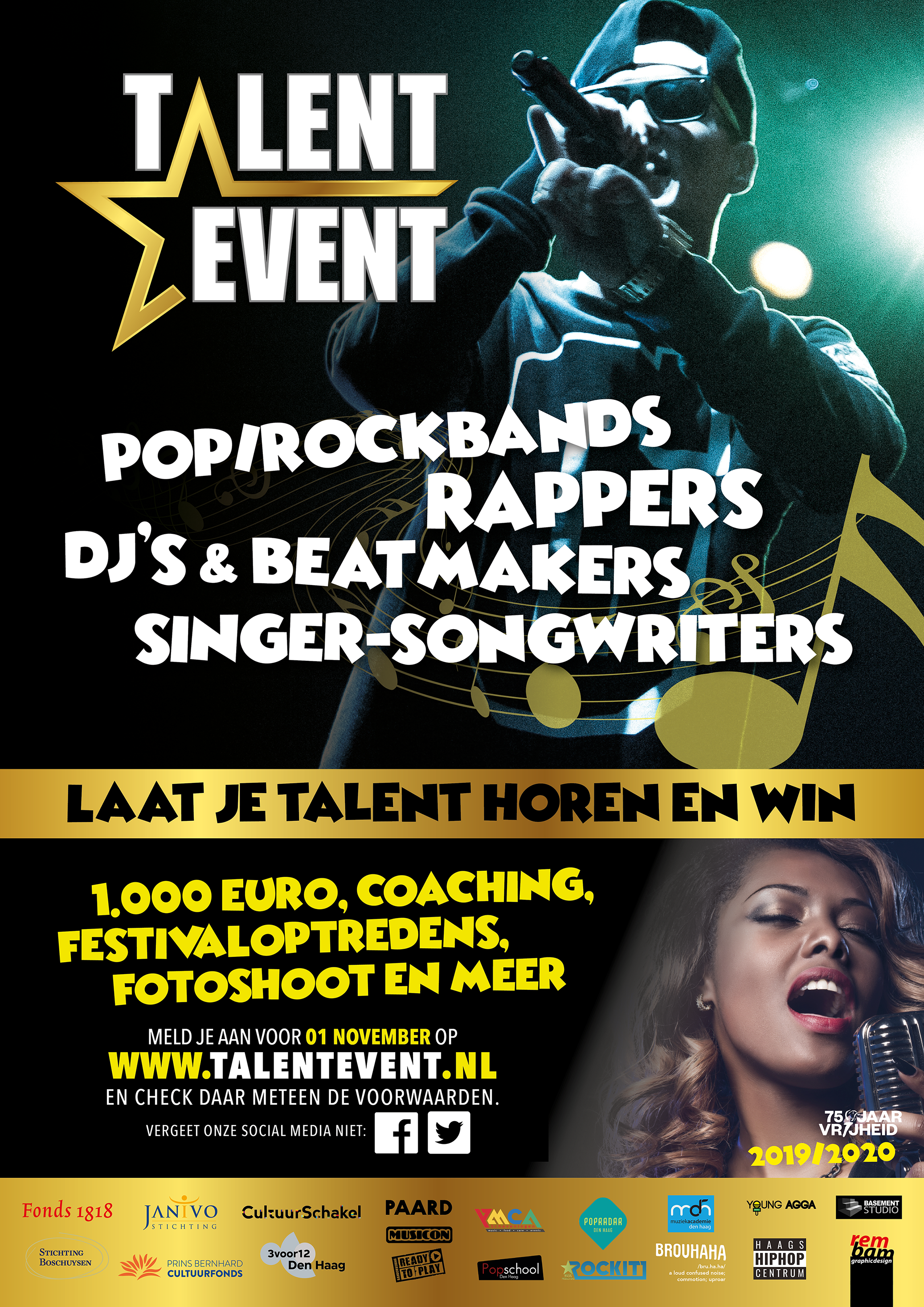 Talent Event komt terug met achtste editie GUAP %